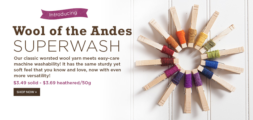 Wool Of The Andes Superwash