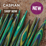 Caspian Wood Knitting Needles