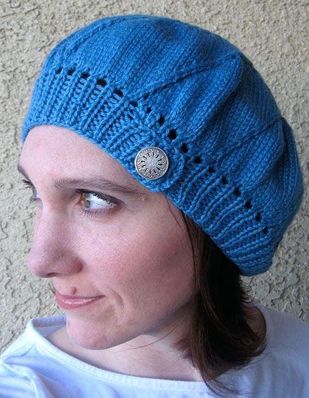 Elsie Beret Knitting Pattern : Whirlpool Beret Pattern - Knitting Patterns and Crochet Patterns from KnitPic...