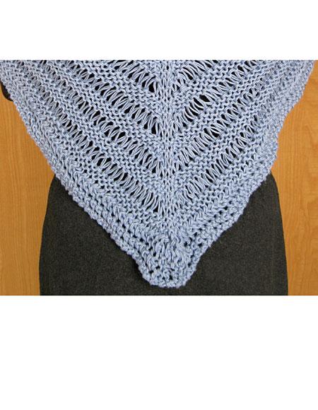 Dragon Tail Shawl Pattern - Knitting Patterns and Crochet ...