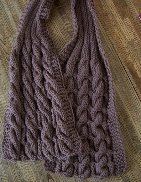Reversible Knit Scarf Pattern Free : Completely Cozy & Reversible Scarf For Him! - Knitting Patterns and Croch...