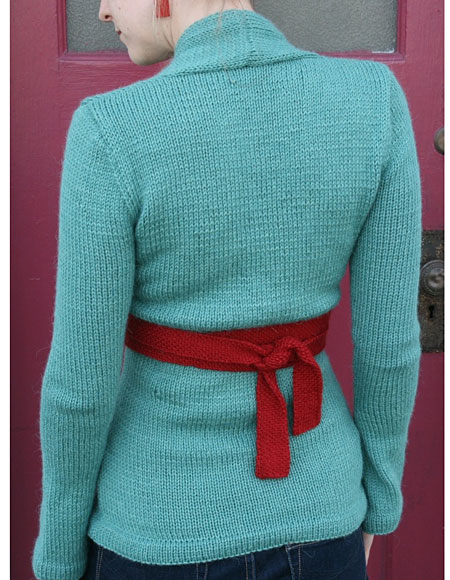Kimono Wrap Cardigan - Knitting Patterns and Crochet Patterns from ...