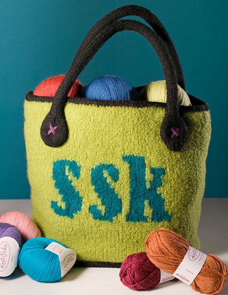 Knitting Stitches K2tog : K2tog Knitting Bag - Knitting Patterns and Crochet Patterns from KnitPicks.com