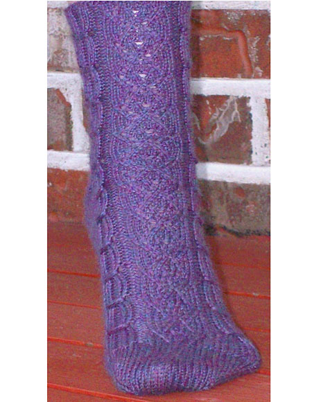 Crochet Socks Patterns Toe Up : Athelrod Toe Up Socks - Knitting Patterns and Crochet ...