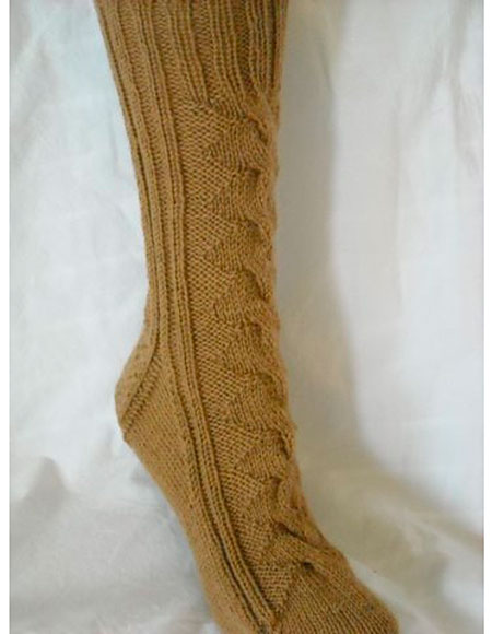 Knitting Pattern For Dog Socks : 3rd Dog Socks - Knitting Patterns and Crochet Patterns from KnitPicks.com