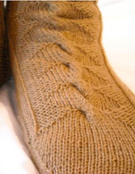 3rd Dog Socks - Knitting Patterns and Crochet Patterns from KnitPicks.com