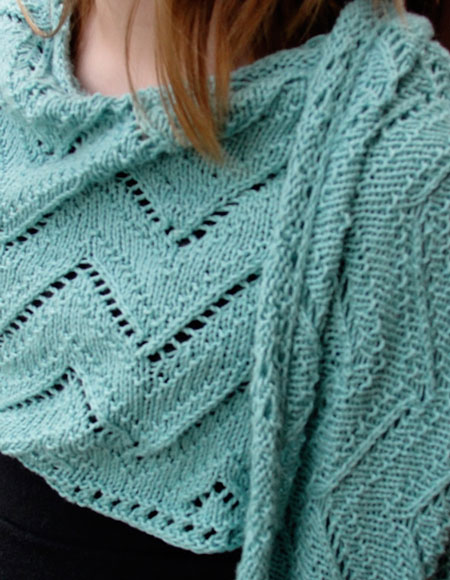 ZigZag Stole - Knitting Patterns and Crochet Patterns from ...