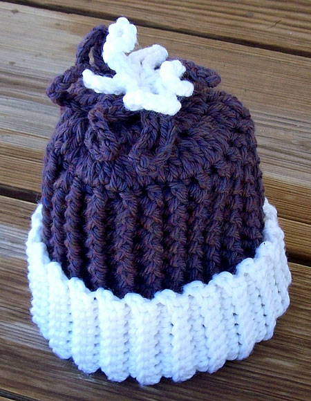 Frozen Flower Crochet Baby Hat - Knitting Patterns and Crochet Patterns from ...