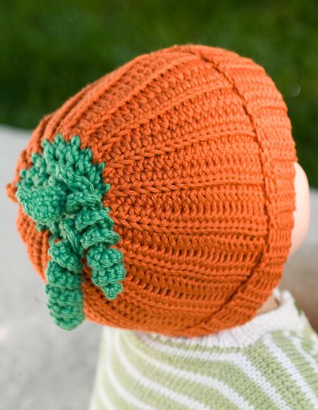 Image Baby Pumpkin Hat Crochet Pattern Download