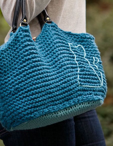 Cat Bag - Knitting Patterns and Crochet Patterns from ...