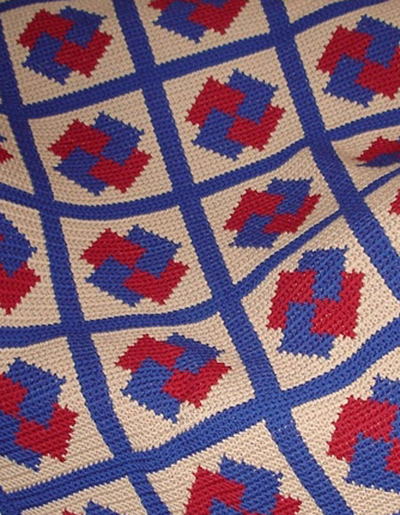 Pinwheel Knitting Pattern : Pinwheel Magic Crochet Blanket - Knitting Patterns and Crochet Patterns from ...
