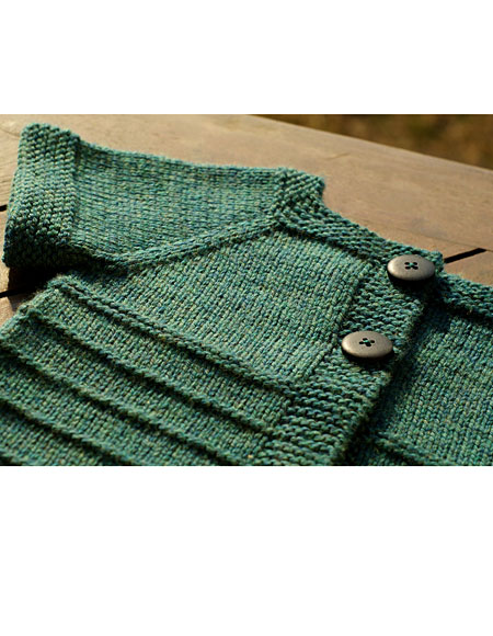 Rose Knitting Pattern : Cardigan Rose - Knitting Patterns and Crochet Patterns ...