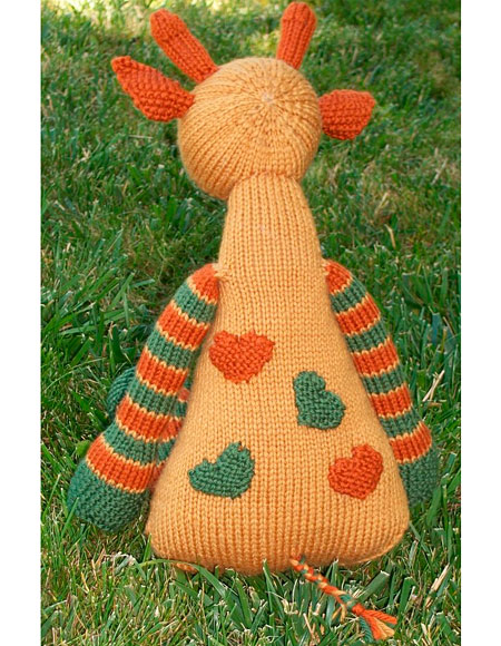 Knitting Pattern Giraffe : Mango the Giraffe - Knitting Patterns and Crochet Patterns from KnitPicks.com