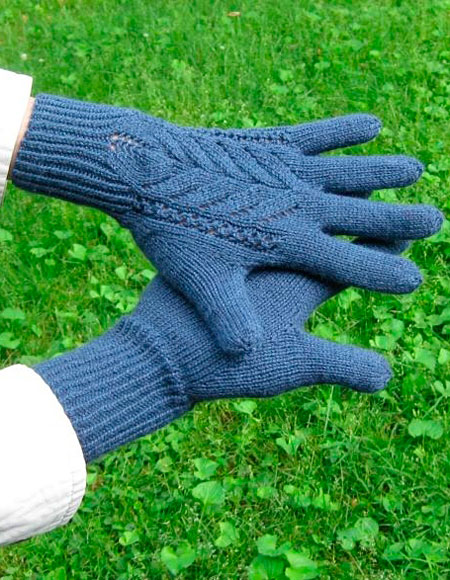 Lace Gloves - Knitting Patterns and Crochet Patterns from ...