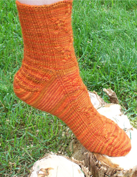 Knit Socks Toe Up Free Pattern : Balmoral Toe Up Socks - Knitting Patterns and Crochet Patterns from KnitPicks...
