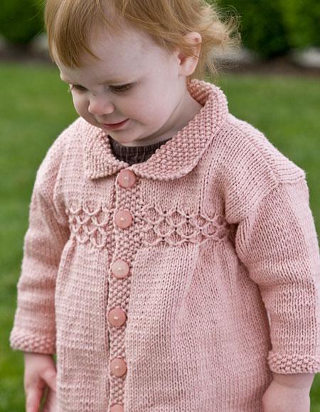 Princess Coat - Knitting Patterns and Crochet Patterns from KnitPicks.com