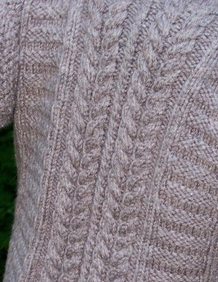 Patrick: An Irish Lads Jacket - Knitting Patterns and Crochet Patterns f...