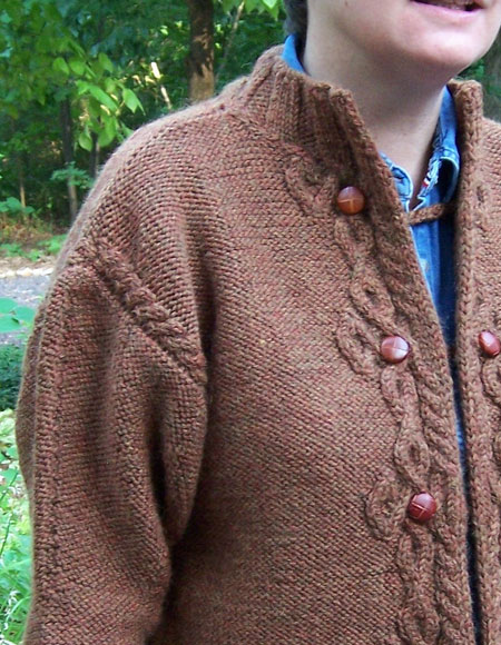 Free Celtic Knitting Patterns : Celtic Closure Cardigan - Knitting Patterns and Crochet ...