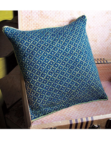Fair Isle Pillow - Knitting Patterns and Crochet Patterns from ...