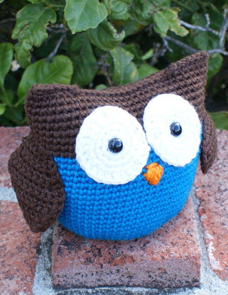 Roly Poly Owl Crochet Amigurumi - Knitting Patterns and ...