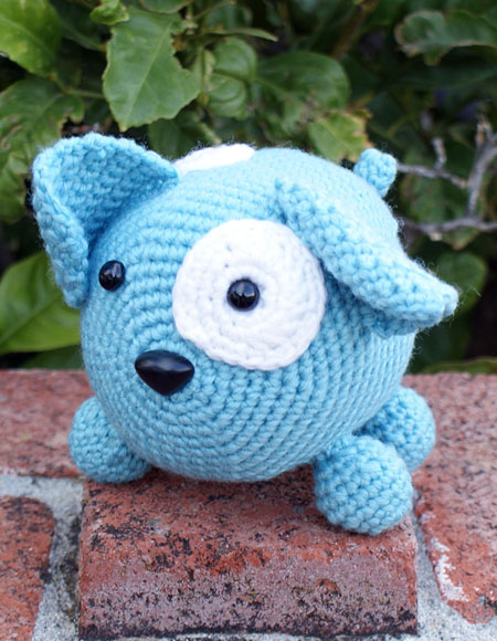 Roly Poly Doggy Crochet Amigurumi - Knitting Patterns and ...