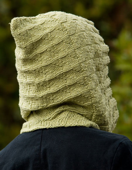 Knit Cowl Hood Pattern Free : Kombu Moebius Cowl & Hood for Child & Adult - Knitting ...