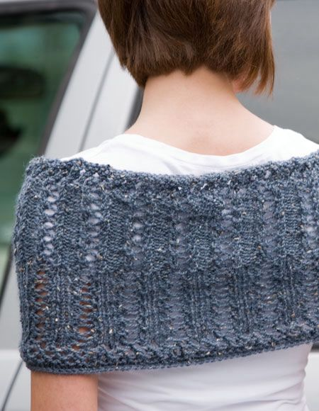 Moebius Knitting Patterns Free : Wrapped in Lace Moebius Wrap - Knitting Patterns and Crochet Patterns from Kn...