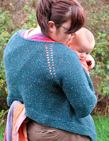 September Swing Cardigan - Knitting Patterns and Crochet Patterns from KnitPi...