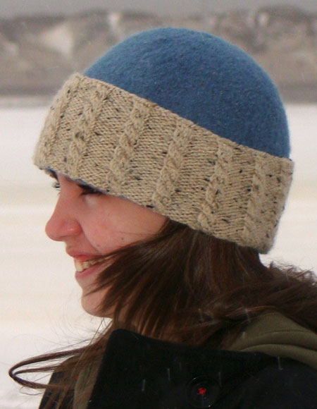 Felted Hat Knitting Pattern : Felted Hat with 4 Brims Variations - Knitting Patterns and Crochet Patterns f...