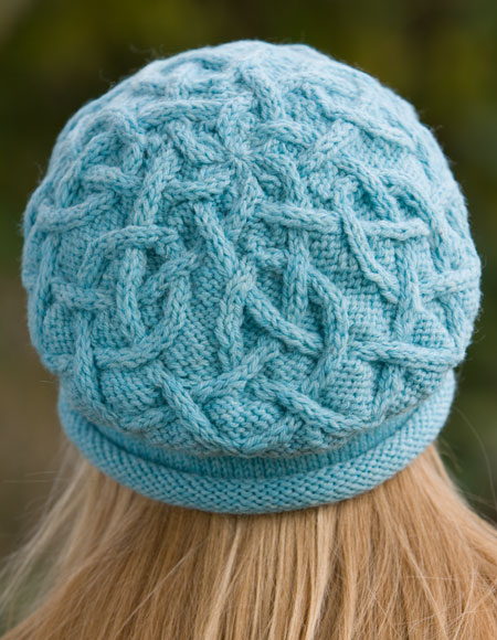 Never Ending Cables Cap - Knitting Patterns and Crochet ...