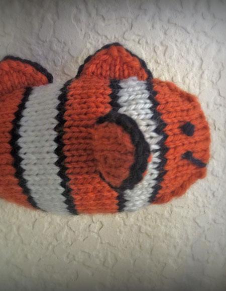 Joker the Clownfish - Knitting Patterns and Crochet ...