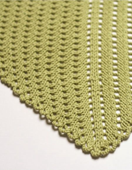 Eyelet Baby Blanket - Knitting Patterns and Crochet Patterns from KnitPicks.com