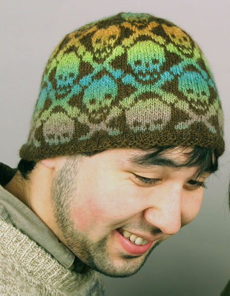 Knitted Skull Hat Pattern : Skully Hat - Knitting Patterns and Crochet Patterns from KnitPicks.com