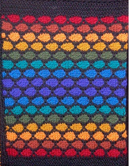 Playing With Blocks Afghan - Knitting Patterns and Crochet Patterns from Knit...