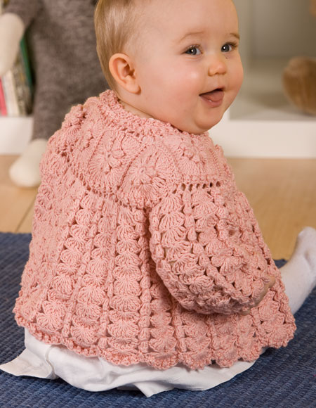 Free Crochet Pattern Little Girl Sweater : Girls Crochet Sweater - Knitting Patterns and Crochet ...