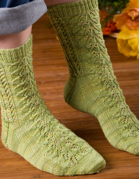 Feelin Fancy Socks - Knitting Patterns and Crochet ...