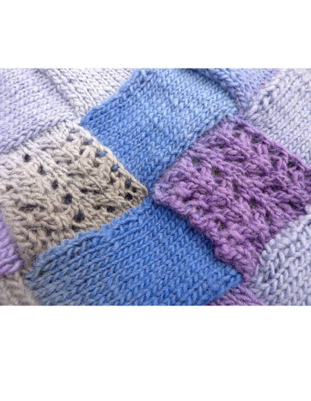 Entrelac Knitting Pattern Books : Lacy Entrelac Infinity Scarf - Knitting Patterns and ...