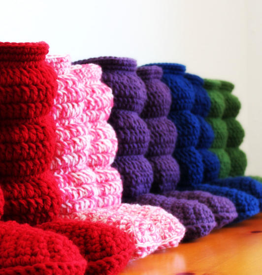Free Crochet Pattern For Cozy Slipper Boots : Cozy Slippers Crochet Boots - Knitting Patterns and ...