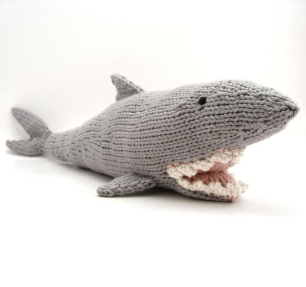 Free Amigurumi Shark Pattern : Shark! - Knitting Patterns and Crochet Patterns from ...