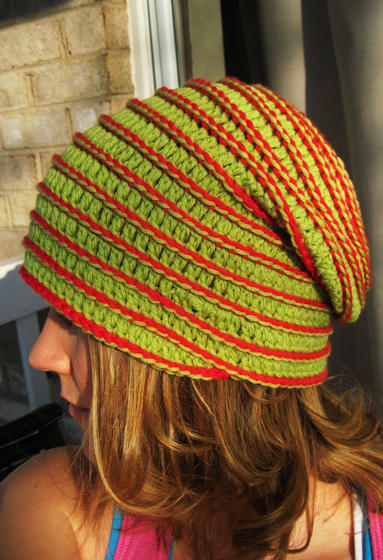 Yo-Yo Crochet Hat - Knitting Patterns and Crochet Patterns from ...
