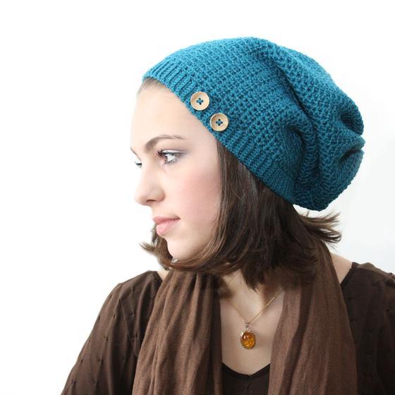 Sock Slouch Crochet Hat - Knitting Patterns and Crochet ...
