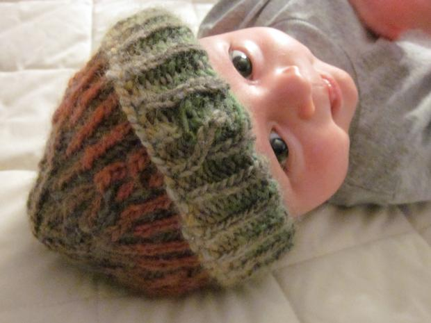 Knitting Brioche Stitch Hat : Chromatography- Brioche Hat and Scarf Set - Knitting Patterns and Crochet Pat...