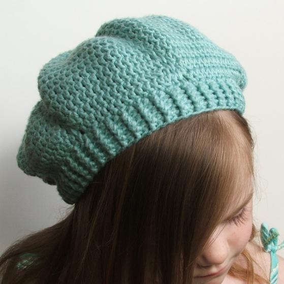 Easy Breezy Crochet Slouch Tam Knitting Patterns And