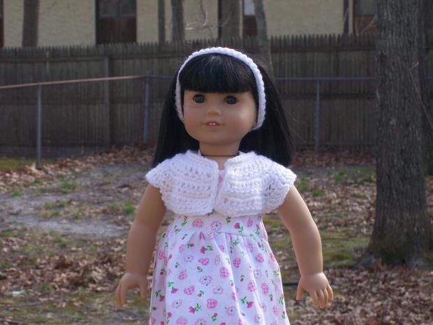 Free Knitting Patterns For 18 Dolls : Simply Stylish Sweaters for 18? Dolls - Knitting Patterns and Crochet Pattern...