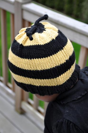 Bumble Bee Knitting Pattern : Bumble Bee Hat - Knitting Patterns and Crochet Patterns from KnitPicks.com
