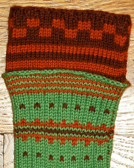 Double Knit Sock Pattern : Double-Cuff Socks - Knitting Patterns and Crochet Patterns from KnitPicks.com