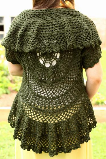 -in-a-Circle Crochet Sweater - Knitting Patterns and Crochet Patterns ...