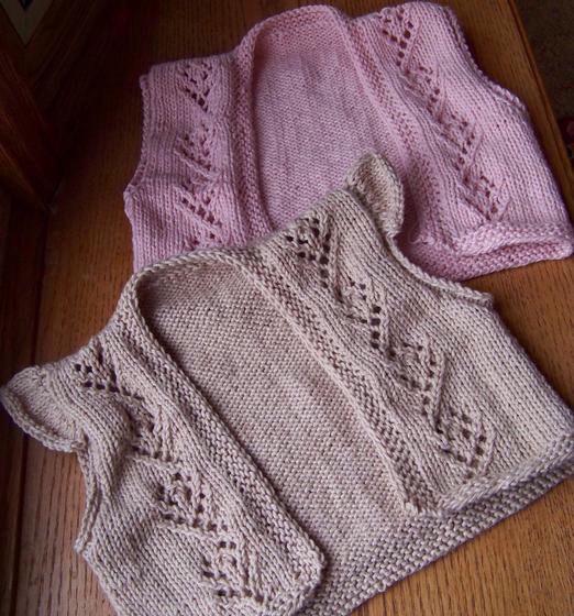 Crochet Flower Shrug Pattern : Little Flower Child Shrug - Knitting Patterns and Crochet ...