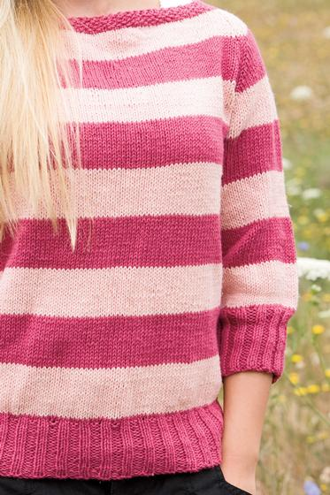 Seamless boatneck Sweater - Knitting Patterns and Crochet ...