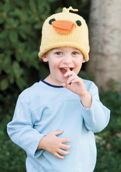 Free Knitting Pattern Duck Hat : Duck Hat - Knitting Patterns and Crochet Patterns from ...